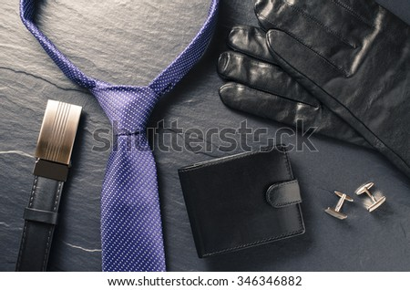 Business man accessories - stock photo