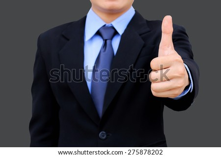 Business man good business concept. - stock photo