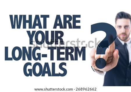 Long Term Goals Stock Images RoyaltyFree Images Vectors