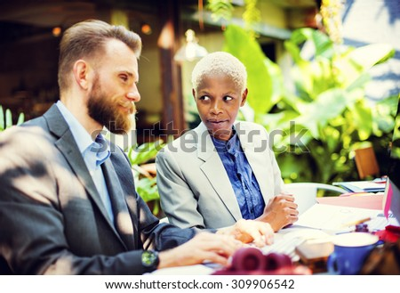 Business Meeting Conference Seminar Working Team Concept - stock photo