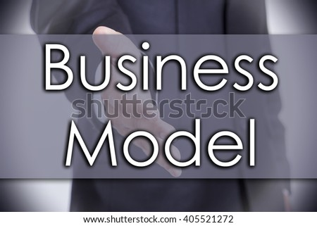 Business Model - business concept with text - horizontal image
