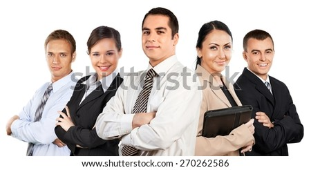 Business, Multi-Ethnic Group, Group Of People.