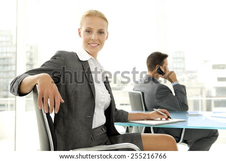 Business negotiation - stock photo