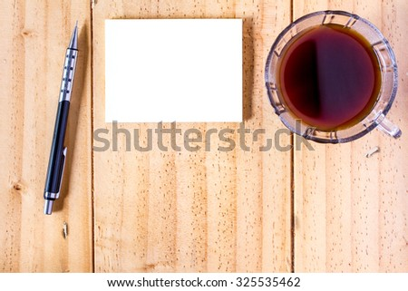 Business Office Background - stock photo