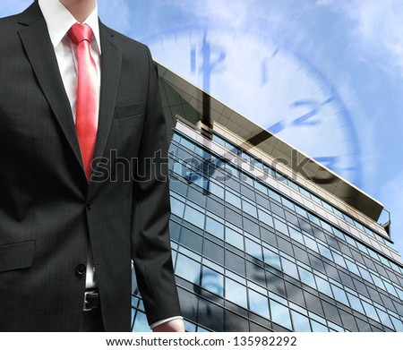 Business on the move conceptual image - stock photo