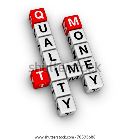 business organization basis crossword - stock photo
