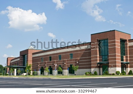 Business Park - stock photo