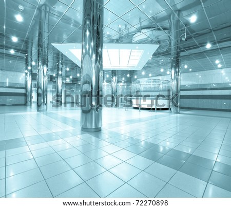 business passage in airport