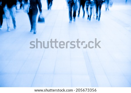 business people activity at city.  - stock photo