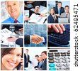 Business  people.  Businessmen and business women - stock photo