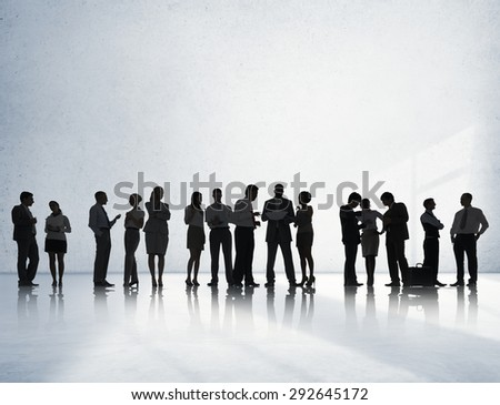 Business People Conference Meeting Discussion Concept - stock photo