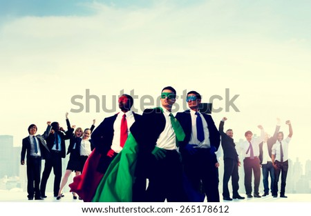 Business People Corporate Celebration Success Concept - stock photo