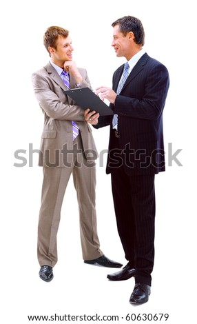 Business people discussing - stock photo