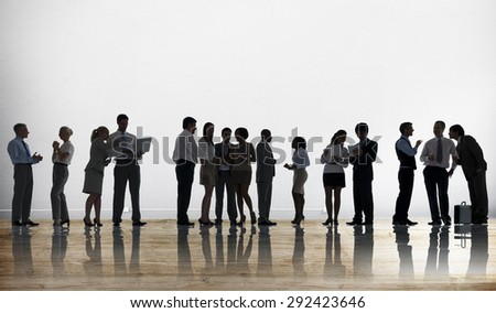 Business People Discussion Brainstorming Meeting Concept - stock photo
