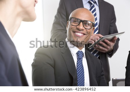 Business people meeting at the office  - stock photo