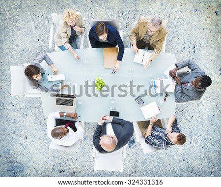 Business People Meeting Corporate Planning Concept
