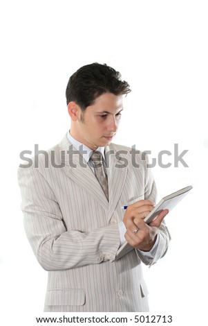 business people professional occupation isolated success manager - stock photo