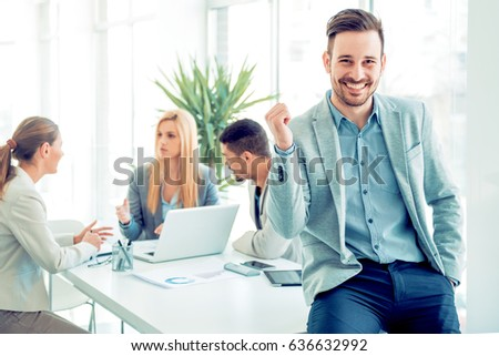 Business people sitting at corporate meeting They are discussing documents  and ideas at meeting. Group Business Peoplebusiness People Sharing Their Stock Photo