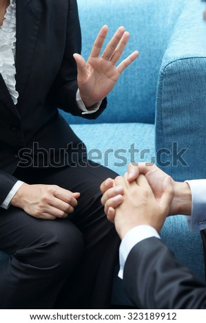 Business Pitch - stock photo