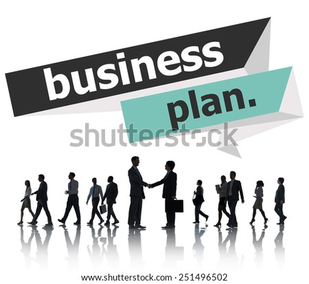 Business Plan Planning Strategy Meeting Conference Seminar Concept - stock photo