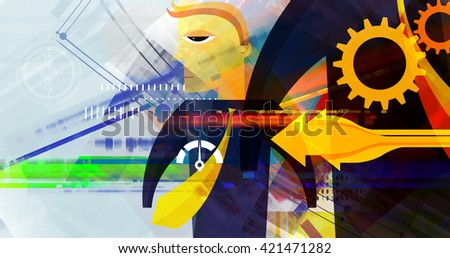 Business Planning Abstract - stock photo