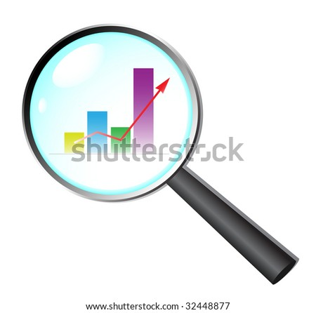 Business research.  jpeg format. For vector version please see my port - stock photo