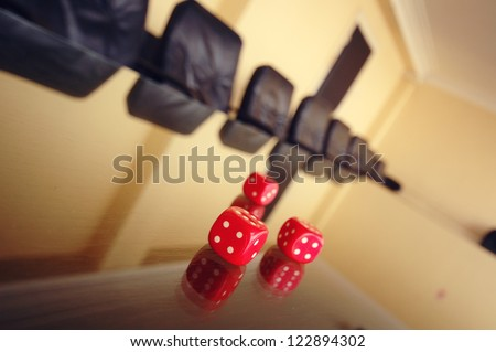 Business risk - stock photo