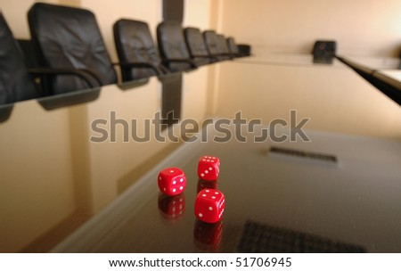 business risk concept - stock photo