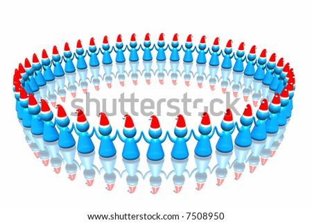 Business santa army