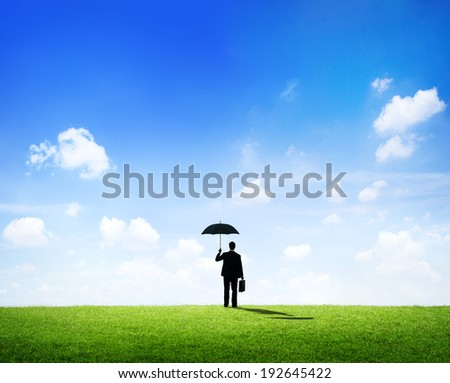 Business security - stock photo
