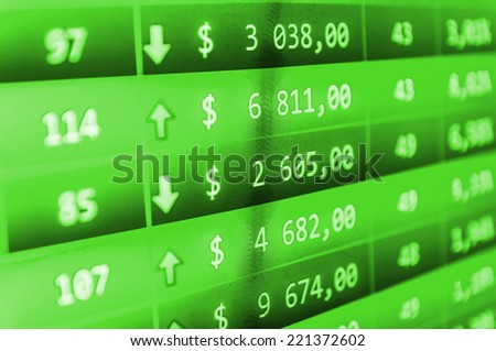 Business stats screen Business stock exchange. Blue stock market. Business stats screen Data analyzing. Business stock exchange. Stock exchange market business. Forex trade. Concept profit gain.  - stock photo