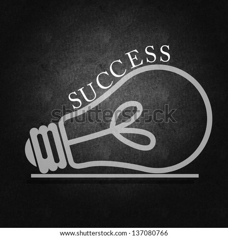 Business success and proper management and strategy - stock photo