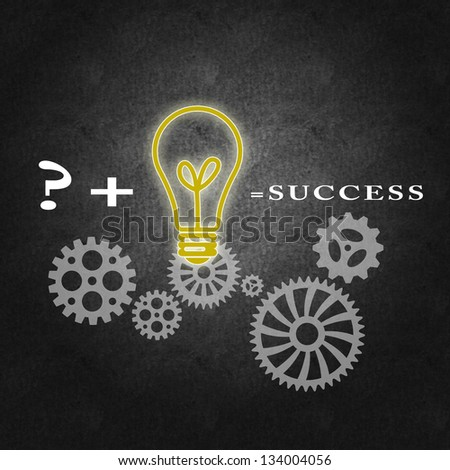 Business success concept, proper management and team work - stock photo