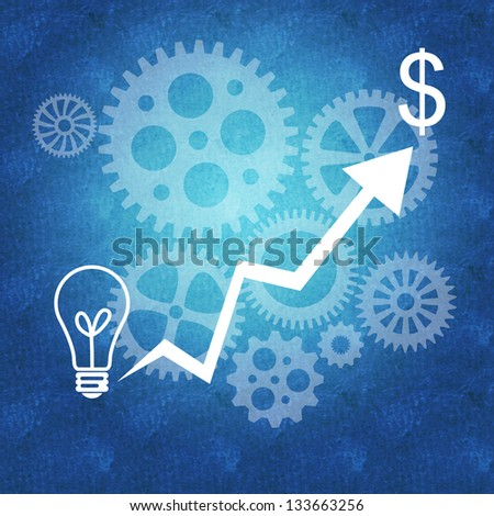 Business success management and teamwork - stock photo