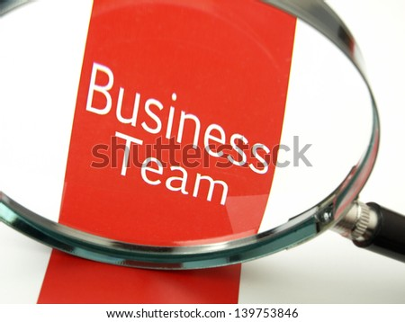 Business support team - stock photo