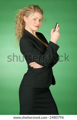 business talking - stock photo