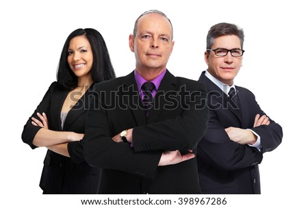 Business team. - stock photo