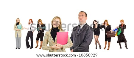 "business team concept  - See similar images of this ""Business People"" series in my portfolio"