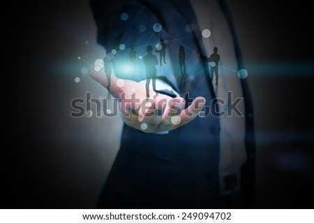 Business team.leadership, meeting - stock photo
