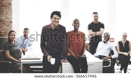 Business Team Professional Occupation Workplace Concept