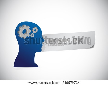 business trading sign illustration design over a white background - stock photo