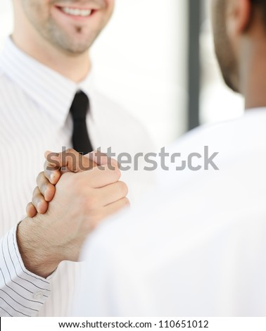 Business trust - stock photo