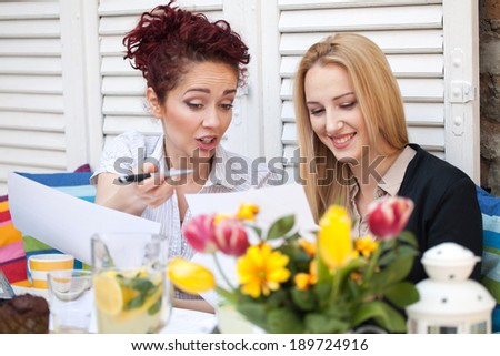Business women - stock photo