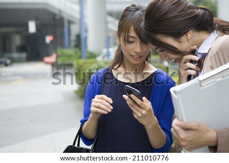 Business Women of the modern - stock photo