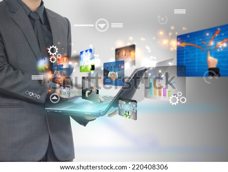 business world.  - stock photo