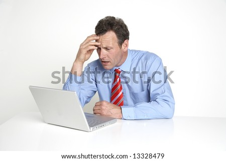 Business worry! - stock photo