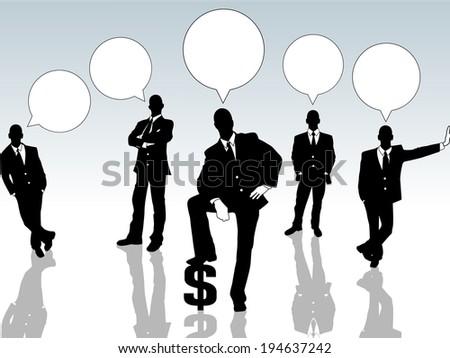 BUSINESSMAN CONCEPT OPTIONS - stock photo