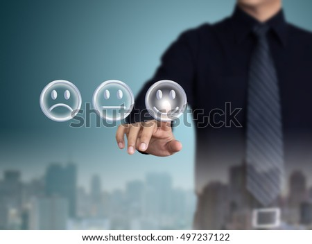 businessman evaluating performance with city view at night