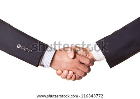 Businessman Handshake - stock photo