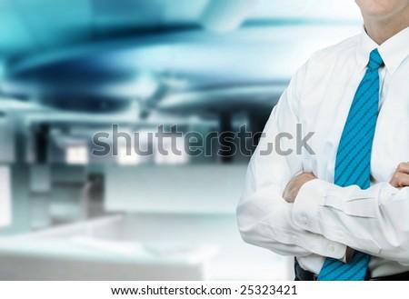 Businessman Office - stock photo